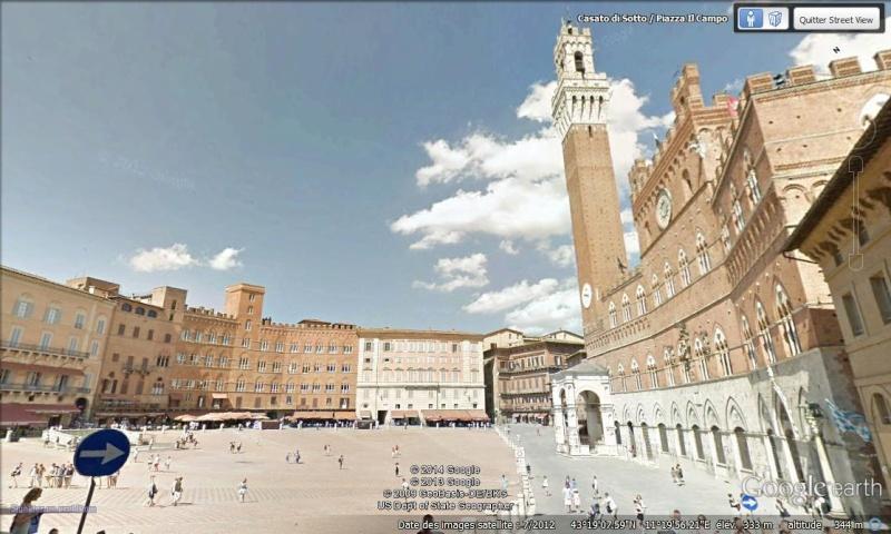 [Italie] - Street-wiew les cartes postales Sienne10