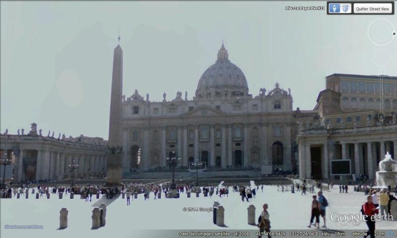 [Italie] - Street-wiew les cartes postales Vatica10