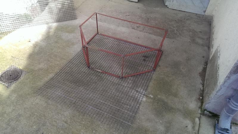 Fabrication Cage à Pie Imag0012