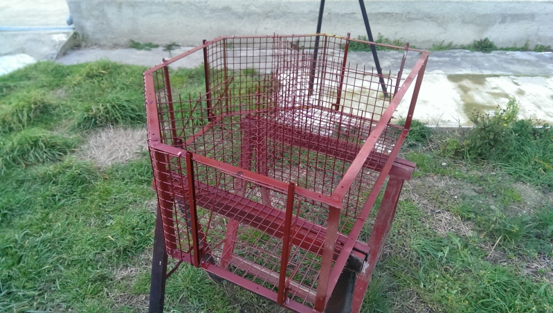 Fabrication Cage à Pie Imag0021