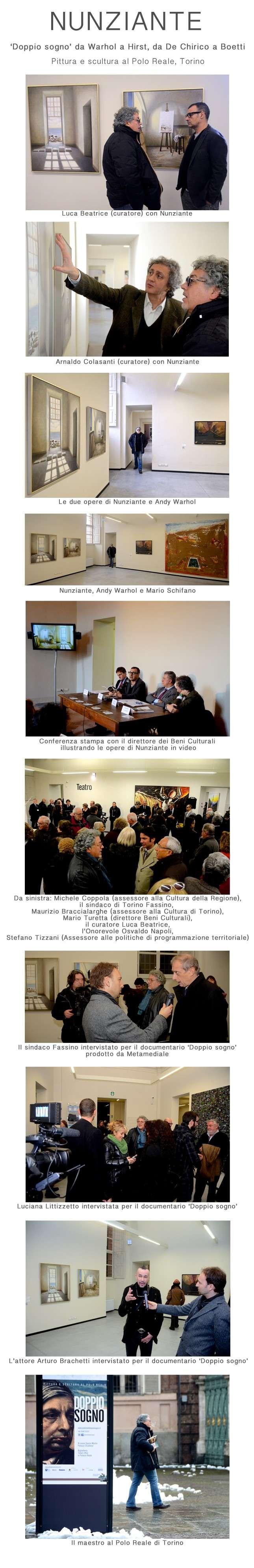 NUNZIANTE alla mostra DOPPIO SOGNO - da Warhol a Hirst da De Chirico a Boetti 03021410