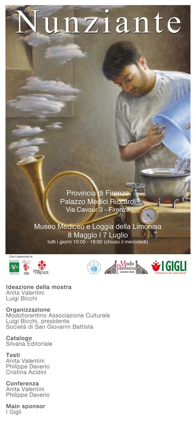 Dal 07 Maggio 2014 Nunziante a Palazzo Medici Riccardi - Firenze 28041410