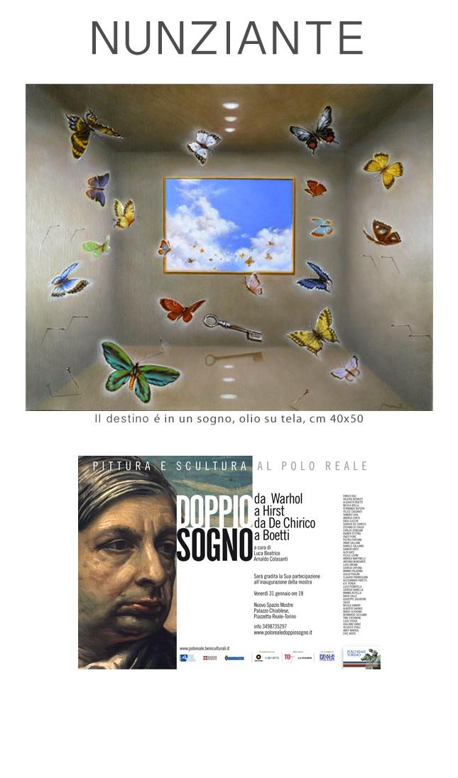 NUNZIANTE alla mostra DOPPIO SOGNO - da Warhol a Hirst da De Chirico a Boetti 29011410