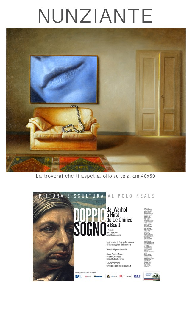 NUNZIANTE alla mostra DOPPIO SOGNO - da Warhol a Hirst da De Chirico a Boetti 30011410