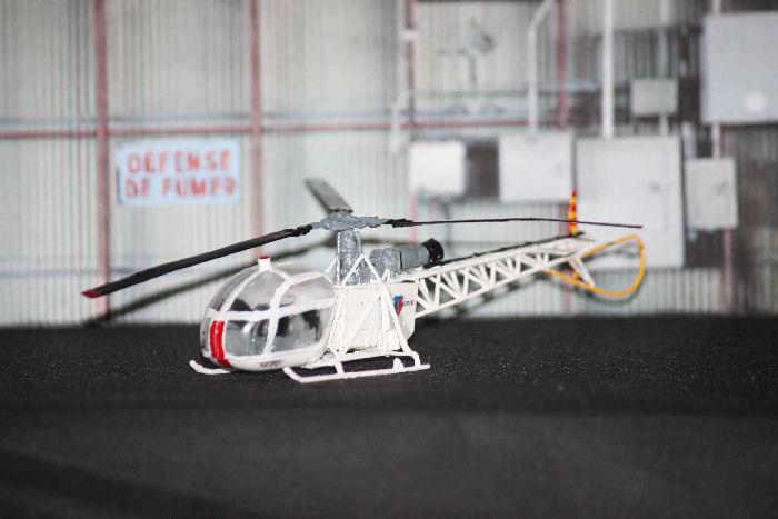 [MACH2] Alouette II Hangar12