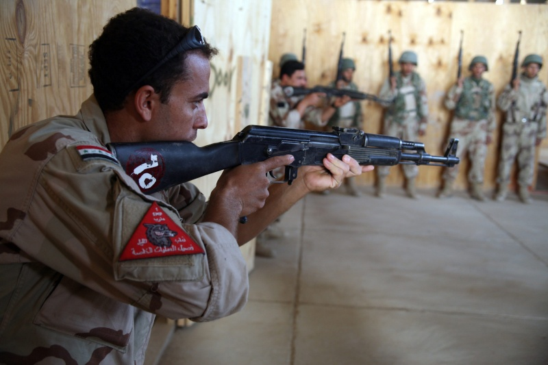 Patches worn by New Iraq Army. 43139812
