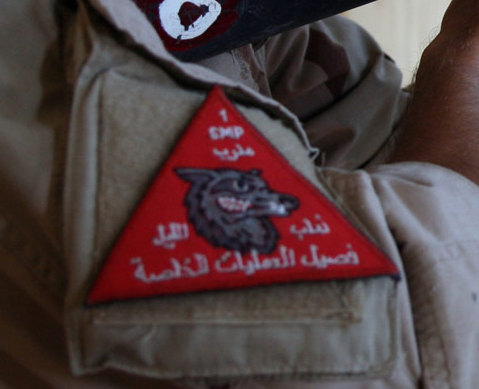 Patches worn by New Iraq Army. 43139813