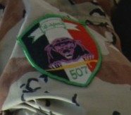 Patches worn by New Iraq Army. 43144412