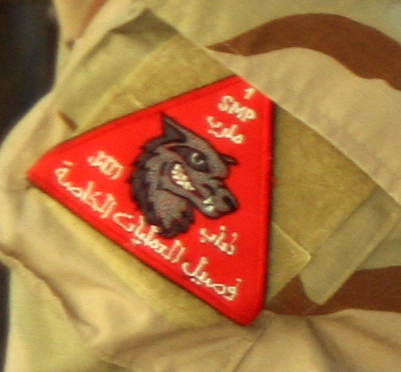 Patches worn by New Iraq Army. 51837411