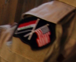 Patches worn by New Iraq Army. 51843510