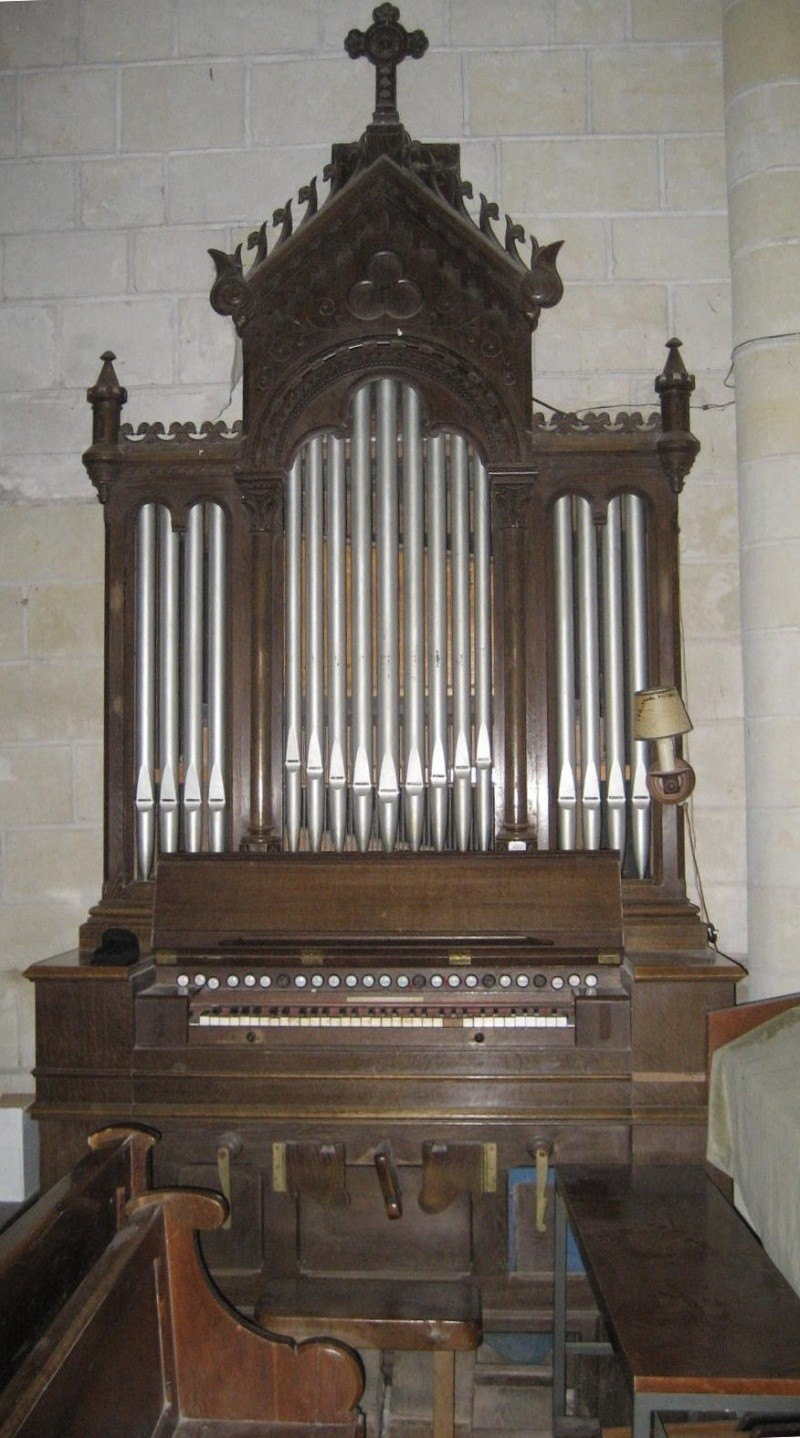 Harmonium Dumont à buffet rehaussé - Eglise de Sciez Img_2611