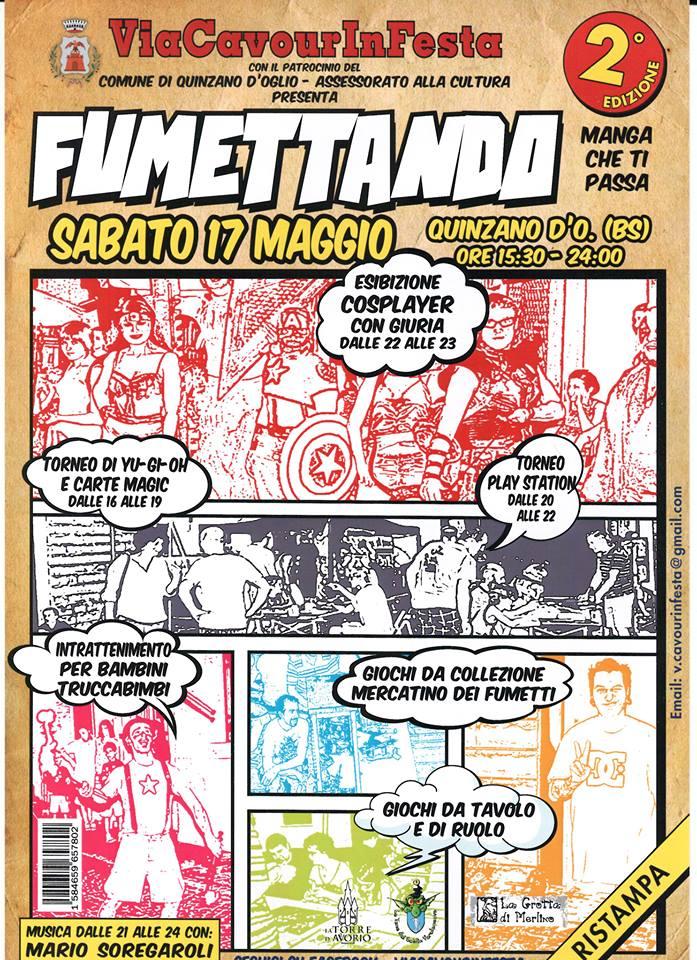 """mostra mercato """"fumettando 2014"""" prov. brescia Fumett10"""