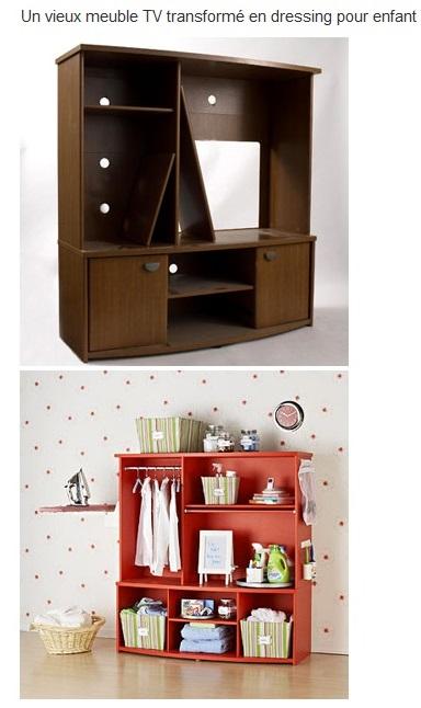 Idées de recyclage et relooking vieux meubles Dressi10