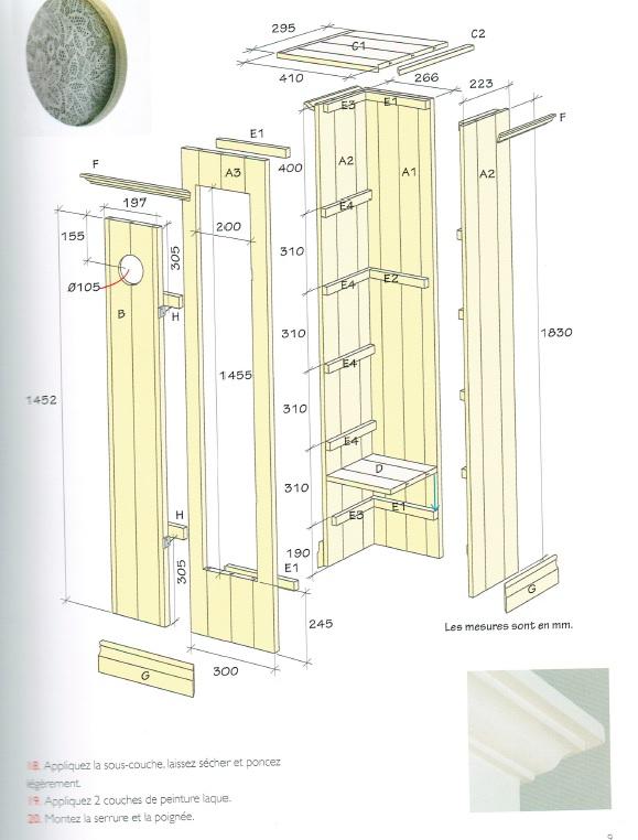 Les meubles en bois à fabriquer soi-même Meuble12