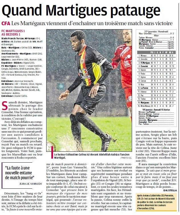 FC MARTIGUES // CFA GROUPE C CLUB et VILLE  - Page 4 611