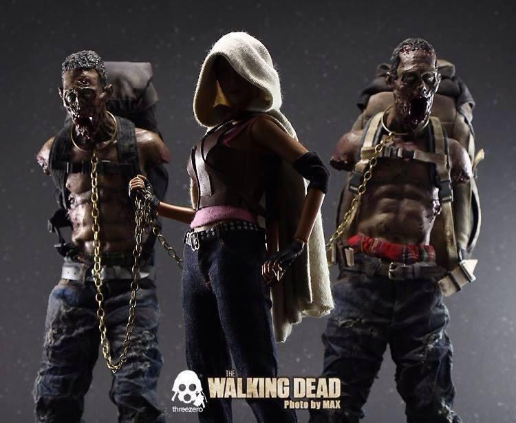 "THE WALKING DEAD "" Figurines OFFICIELLES ""  Z310"