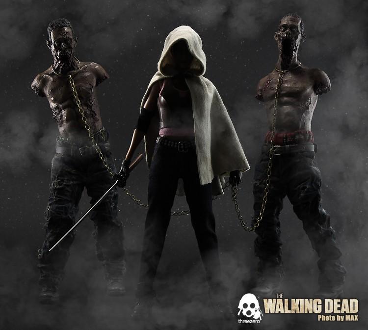 "THE WALKING DEAD "" Figurines OFFICIELLES ""  Zombie10"