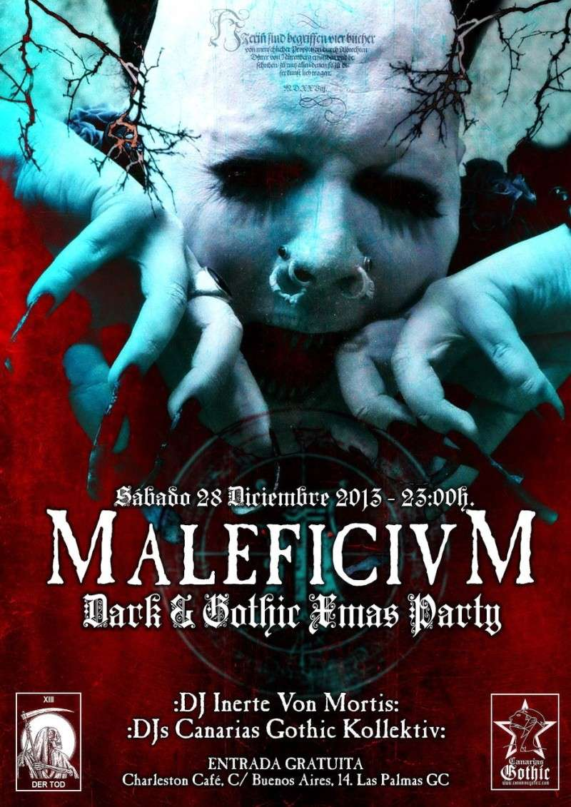 :MALEFICIVM XIII: Dark & Gothic Xmas Party Malefi10