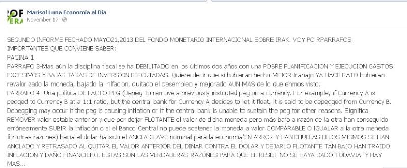 Marisol Luna: Economista Internacional ??? Nada que ver. Ml10