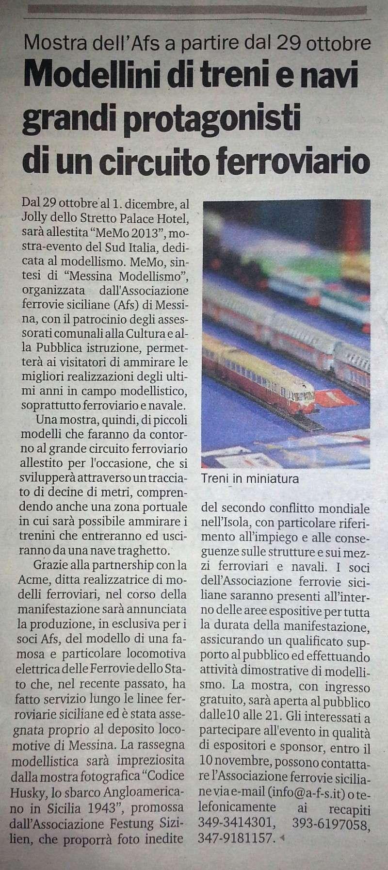29 novembre - 1 dicembre 2013, MeMo 2013, Piccoli modelli per una Grande passione 20131110