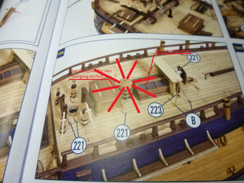 Baubericht  Endeavour von OcCre 1:54 - Seite 5 P1100810