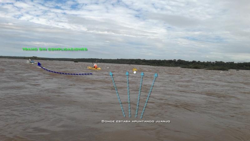 Kayakeada en Río Uruguay. Adrenalina pura...!!! Olw410