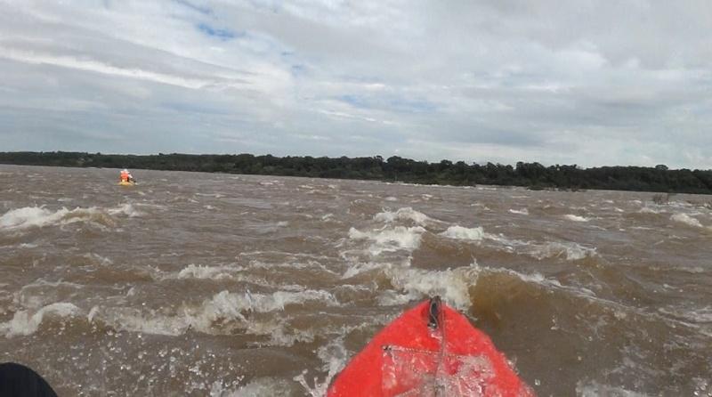 Kayakeada en Río Uruguay. Adrenalina pura...!!! Susf10