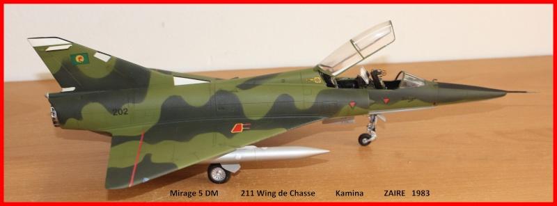 Mirage 5 DM Zaire 00810
