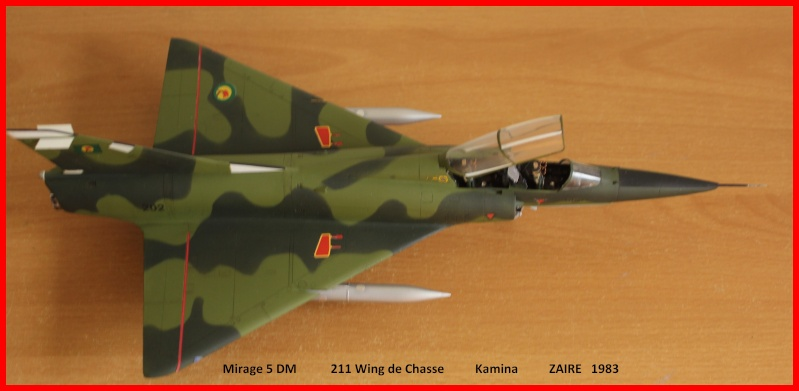 Mirage 5 DM Zaire 00910