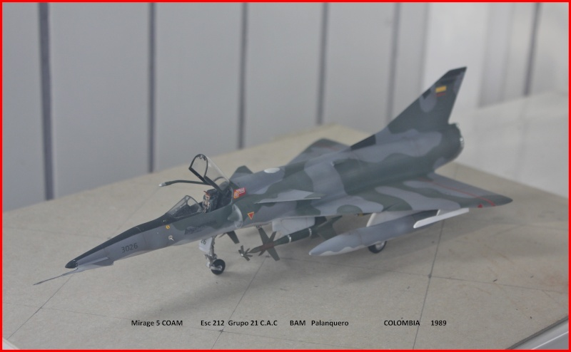 Mirage 5 COAM  (Mirage III C Heller 1/48  + scratch) M5coam10