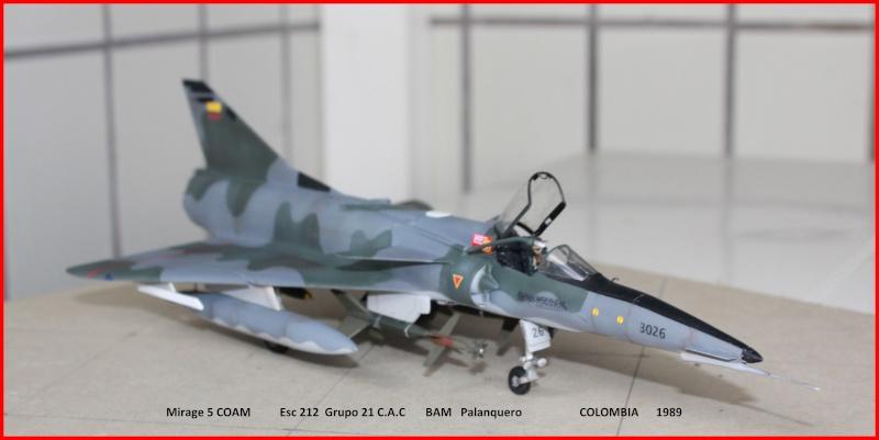 Mirage 5 COAM  (Mirage III C Heller 1/48  + scratch) M5coam11