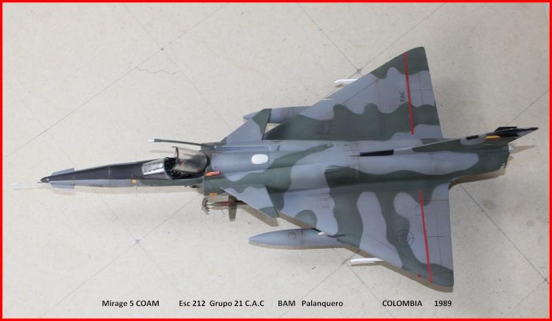 Mirage 5 COAM  (Mirage III C Heller 1/48  + scratch) M5coam12