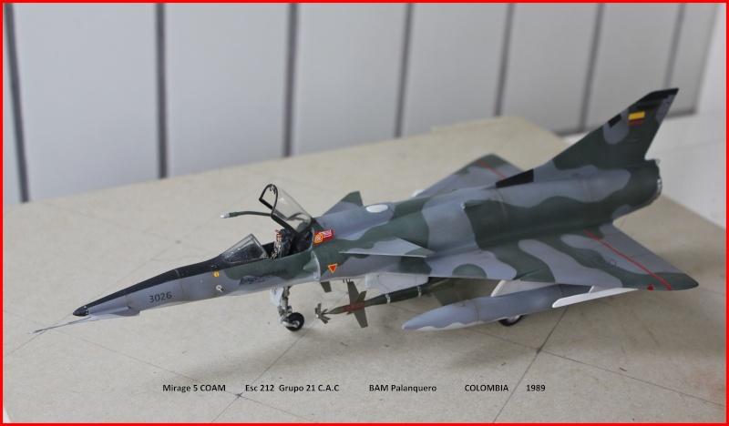 Mirage 5 COAM  (Mirage III C Heller 1/48  + scratch) M5coam13