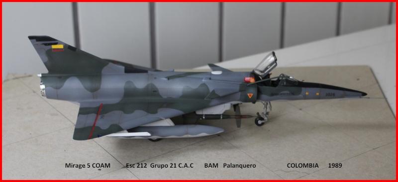Mirage 5 COAM  (Mirage III C Heller 1/48  + scratch) M5coam14