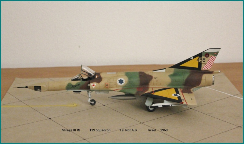 Mirage III RJ  Tzniut nose Miiicj12