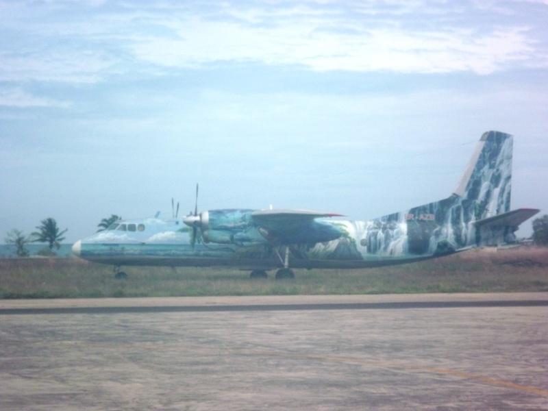 Avions à SAO TOME  Saotom12