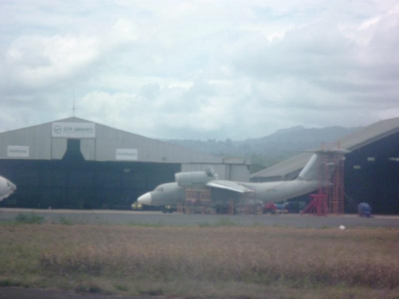 Avions à SAO TOME  Saotom13