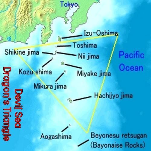 La mer du Diable: un triangle des Bermudes asiatique ? Triang10