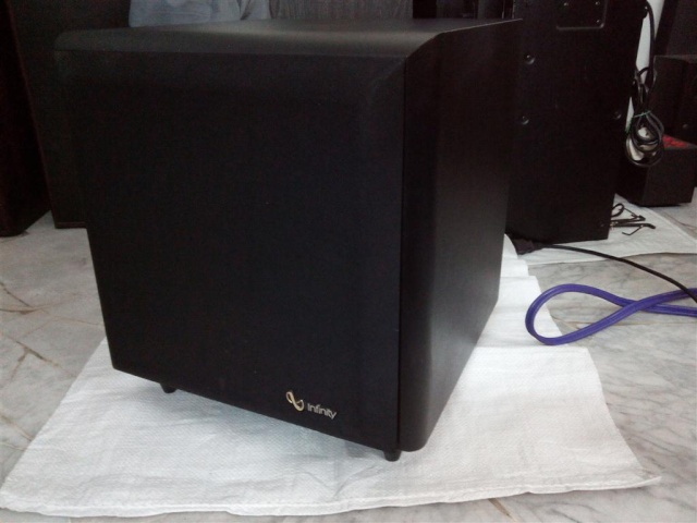 Infinity SSW-10 powered subwoofer (sold) 20142214