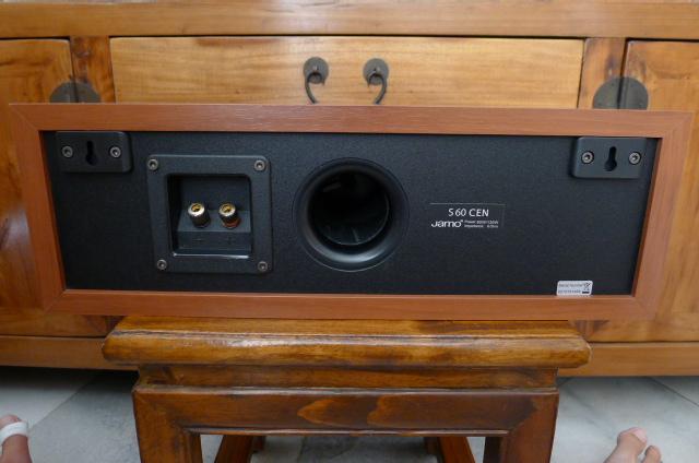 Jamo S60 CEN center speaker sold P1070562