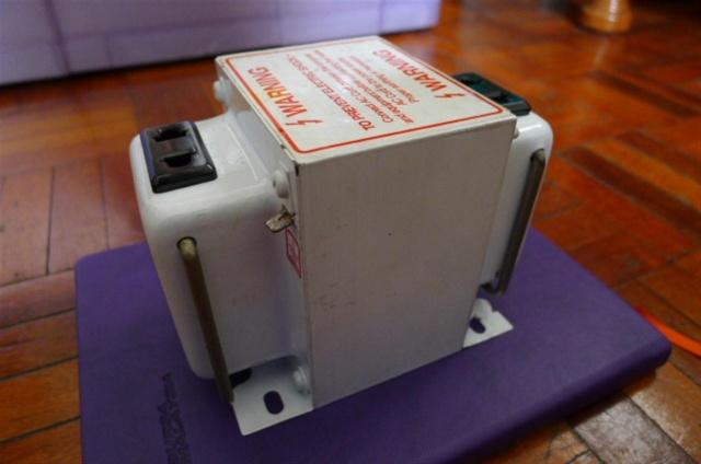 QPS AS-500 step-down transformer SOLD P1080033