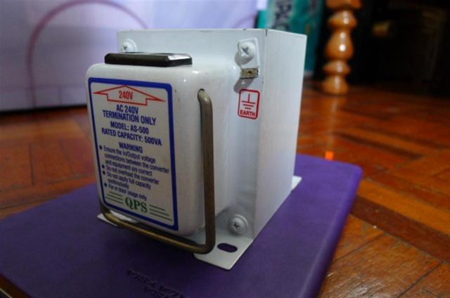 QPS AS-500 step-down transformer SOLD P1080034