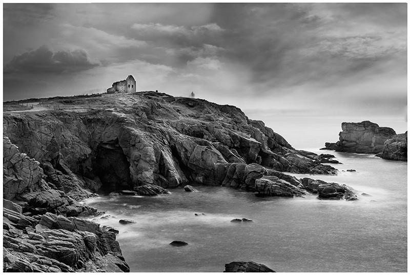 La côte sauvage ( Presqu'ile de QUIBERON) Cabane10