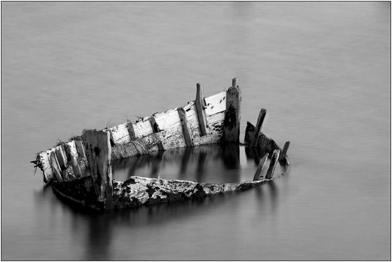 Reste de vieille barque  Photon10
