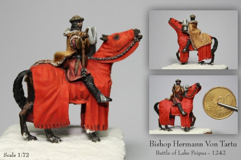 Bishop Knight Herman Von Tartu 1:72 H_35212