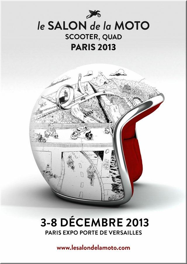 Salon de la moto - Paris Porte de Versailles du 3 au 8 décembre 2013 Salon-10