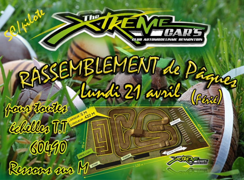 rassemblement de pâques au Xtreme CAR'S Chasse10