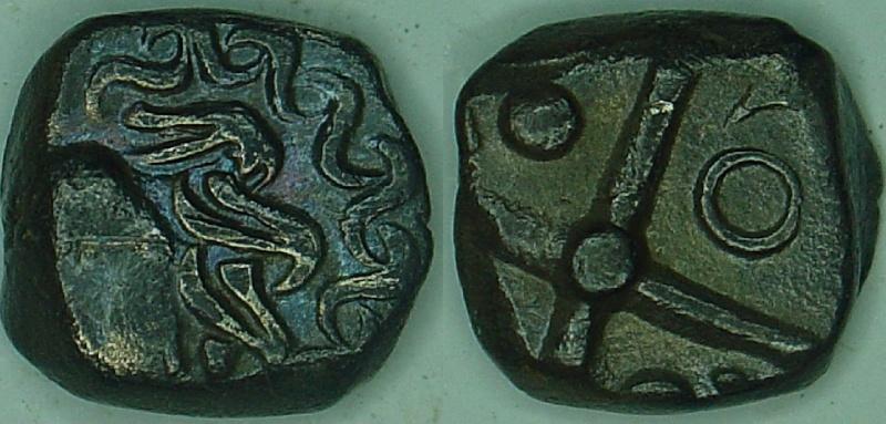 Catalogue des monnaies gauloises à la croix 24310