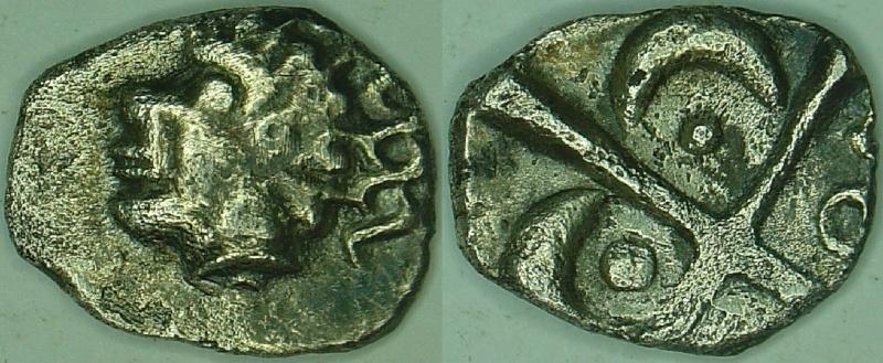 Catalogue des monnaies gauloises à la croix 29310