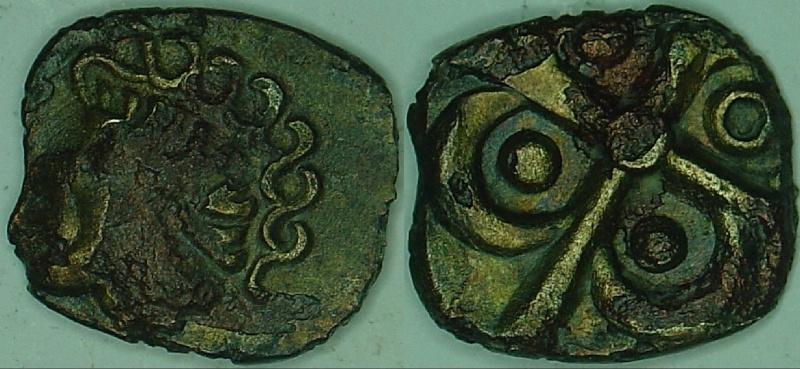 Catalogue des monnaies gauloises à la croix 60010